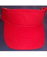 Unisex NWOT Anvil Red Visor Cap  - $6.00