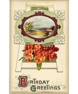 Birthday Greetings John Winsch 1910 Published Post Card - $3.00