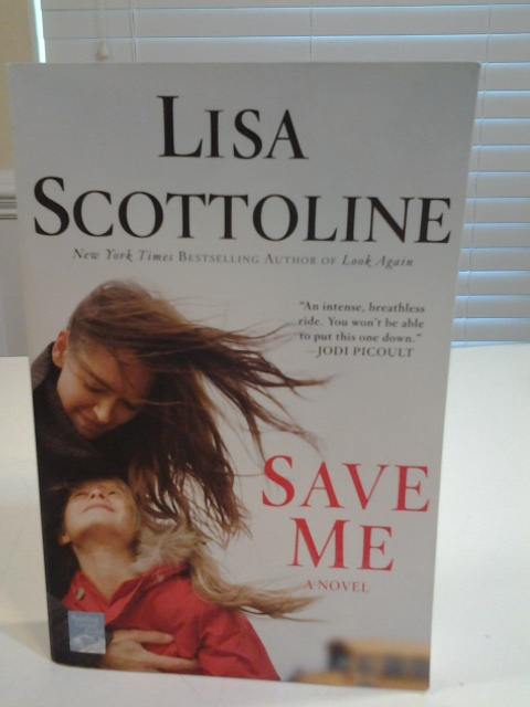 Save Me, By Lisa Scottoline, 2011 PB Like New, Free Freight