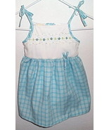 Toddler Girls NWOT Little Bitty Blue White Sun Dress Size 2T - $5.95