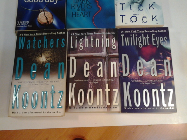 Dean Koontz, Lot of 6 Books, Paperbacks, VG, Free Freight
