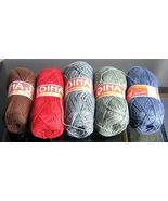 500 Gramm mixed colors Alpacawool,soft wool, yarn  - $42.00
