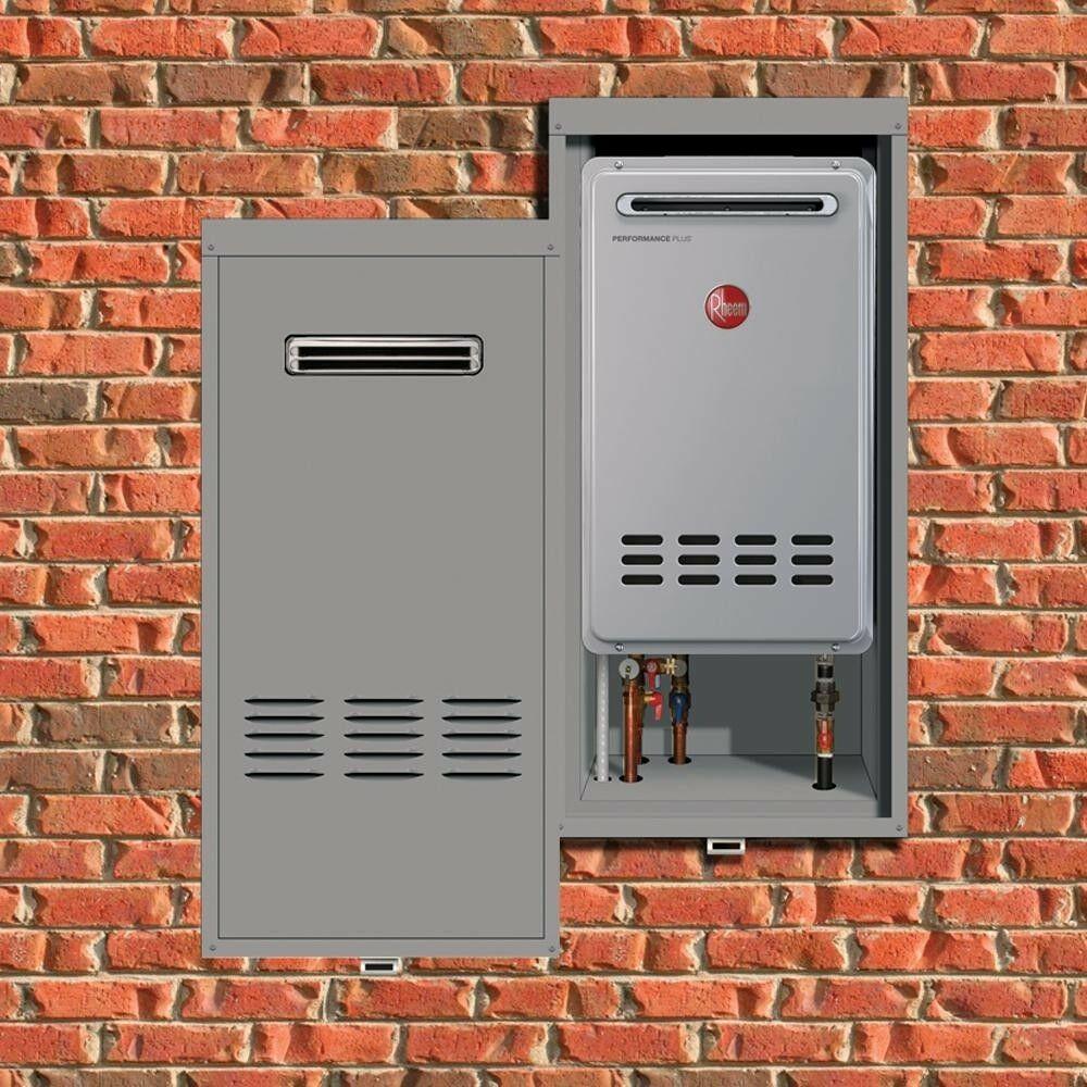 Rheem Outdoor Water Heater Lockable Recess Box Cabinet