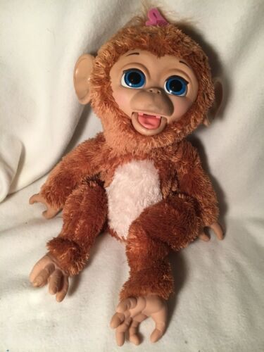 Primary image for FURREAL FRIENDS CUDDLES MY GIGGLY MONKEY PET A1650 INTERACTIVE FUR REAL MONKEY