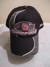 SAINT LOUIS 2006 WORLD SERIES CHAMPIONS CAP/HAT BY NEW ERA, size large - $17.84