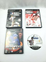 Playstation 2 Lot of 4 MLB Slugfest 2003, MLB The Show 06 (Disc) & 09, N... - $19.79