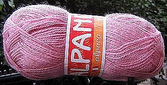 1.1pounds first quality pink  Alpacawool,knitting wool