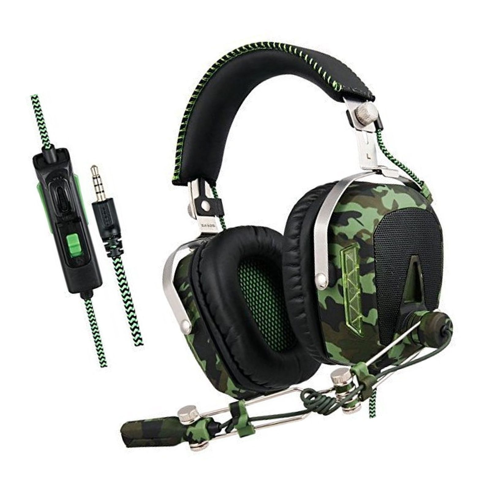 SADES SA926T Newly Updated Gaming Headset Headphones for Xbox One PS4 PC Mac ...