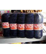 1.1 pounds dark blue alpaca wool,knitting wool  - $52.00