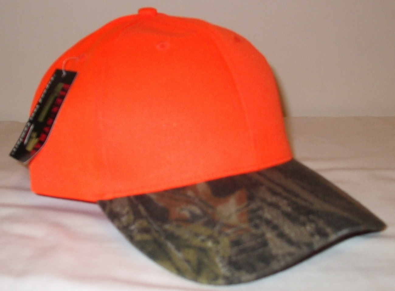 Mens NWT Kati Sportcap Orange Camouflage Ball Cap