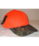 Mens NWT Kati Sportcap Orange Camouflage Ball Cap  - $9.95