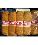 500 Gramm yellow Alpaca wool,knitting wool, yarn  - $42.00