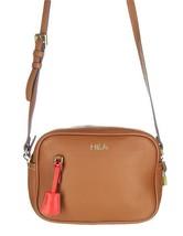 NEW J Crew Signet Bag Brown Italian Leather Handbag Crossbody Purse F523... - $55.19