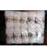 1.1pounds pure white Babyalpaca wool,knitting wool - $71.00