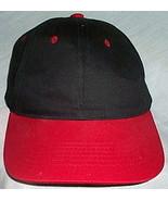 Mens NWOT Sportsman Black and Red Ball Cap  - $3.95