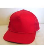 Mens NWOT Sportsman Red Mesh Back Ball Cap  - $3.95