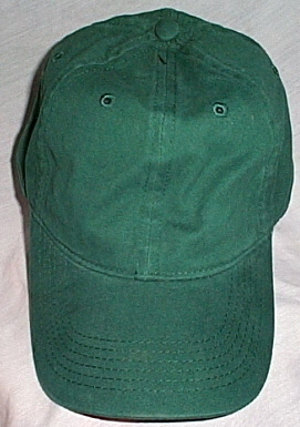 Mens NWOT Authentic Headwear Green Ball Cap