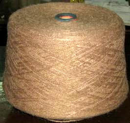 2.2 pounds of brown Alpacawool, knitting wool
