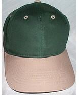 Mens NWOT Sportsman Green Khaki Brim Ball Cap  - $3.95