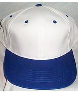 Mens NWOT Sportsman White with Blue Brim Ball Cap  - $3.95