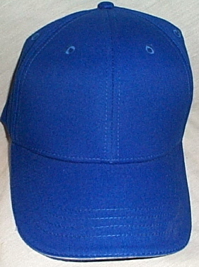 Mens NWOT Toppers Bright Blue with White Tip Brim Ball Cap