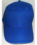 Mens NWOT Toppers Bright Blue with White Tip Brim Ball Cap  - $3.95