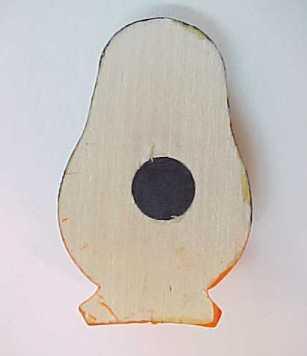 Wooden Russian Matryoshka Doll Refrigerator Magnet