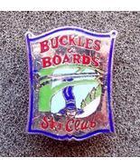 Buckles & Boards Ski Club Pin Pinback - $6.50