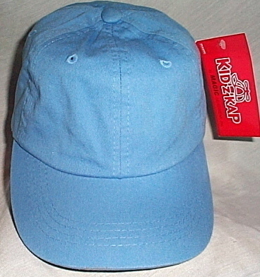 Boys NWT Kidz Kap Light Blue Ball Cap