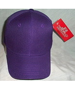 Boys Kidz Kap NWT Purple Ball Cap  - $3.95