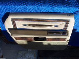 1978 Towncar Left Rear Door Trim Panel Oem Used Orig Lincoln Part 1977 1978 1979 - $185.13