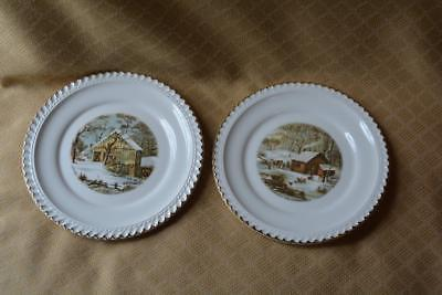 6 Bread & Butter Plates & pie cake Server and 50 similar items