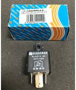 RLAC/4-24 Nagares, 24V 40A Black Contactor, Normally Open Relays Multi-P... - $20.22