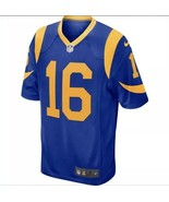NIKE LOS ANGELES RAMS JARED GOFF #16 FOOTBALL JERSEY 698074-431 $100 MSR... - $79.19