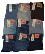 LEVI'S MENS 508 REGULAR TAPER FIT JEANS 28 29 30 31 32 33 34 36 38 40 x ... - $51.95