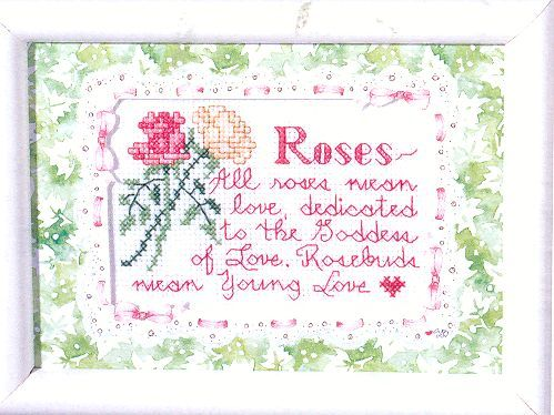 Susan Branch~Roses.... Cross Stitch Kit