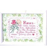 Susan Branch~Roses.... Cross Stitch Kit - $6.00