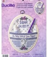 Dear Guest Accessory Holder Cross Stitch Kit - $12.00