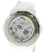 Casio Women's Baby G BGA225-7A White Resin Japanese Quartz Sport Watch - $107.75