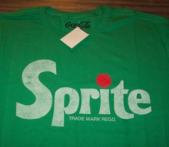 VINTAGE STYLE SPRITE SODA T-Shirt MENS LARGE NEW w/ TAG 1980's - £14.39 GBP