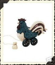 """Boyds Pull Toy  """"Yankee Doodle Doo"""" Tug Along  #654243 -2002 - Retired - $19.99"""