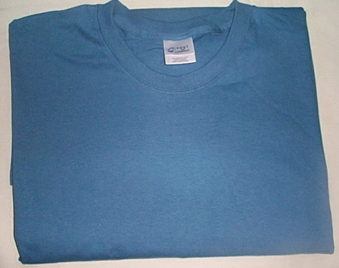 Mens NWOT Port and Co. Blue Short Sleeve T Shirt Size 6XL