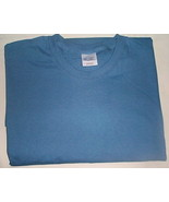 Mens NWOT Port and Co. Blue Short Sleeve T Shirt Size 6XL - $9.95