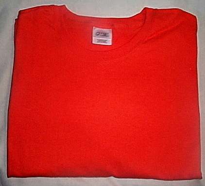Mens NWOT Port and Co Orange Short Sleeve T Shirt Size 6XL