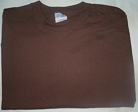 Mens Port & Company Brown Short Sleeve T-Shirt NWOT Size 6XL