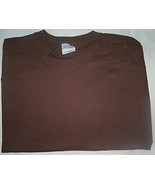 Mens Port & Company Brown Short Sleeve T-Shirt NWOT Size 6XL - $9.95