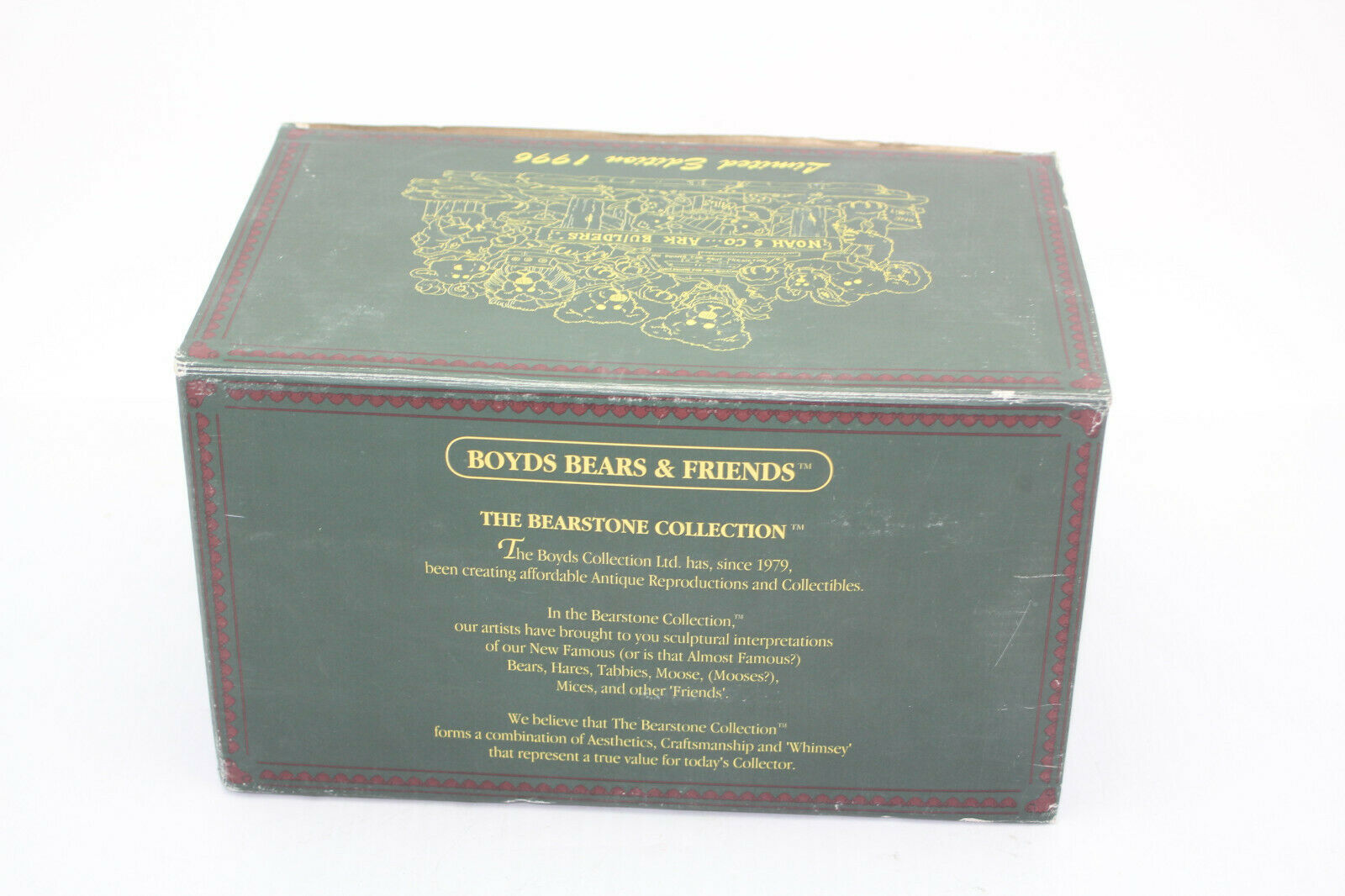The Boyds Collection Noah & Co. Ark Builders Limited Edition 1996 image 10