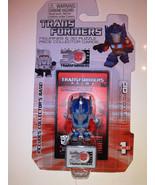 "OPTIMUS PRIME MOVIE Transformers 30th Anniversary 1 1/2"" Mini Figure Wav... - $5.87"