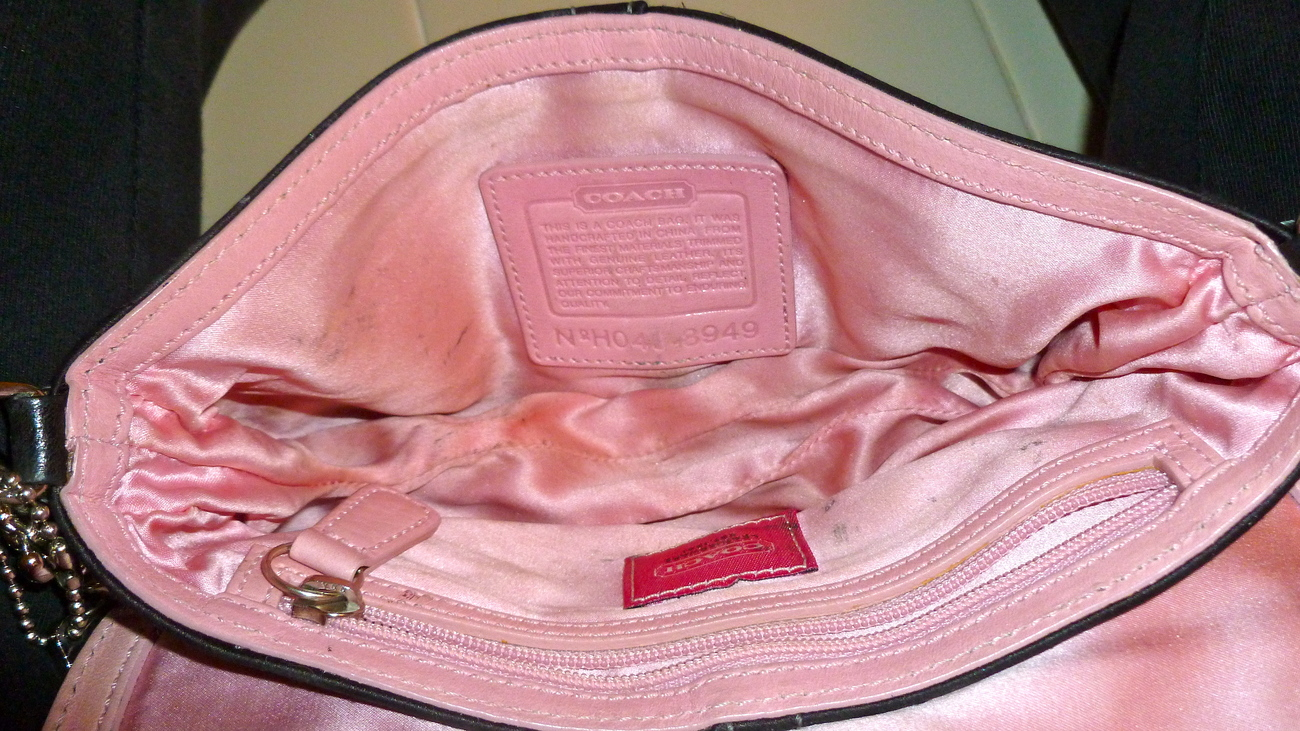 Coach evening bag