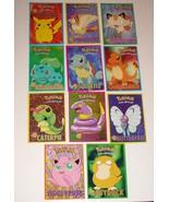 Pokemon Post Card Lot of 11 1998 Psyduck, Jigglypuff, Ekans, Caterpie, S... - $21.38